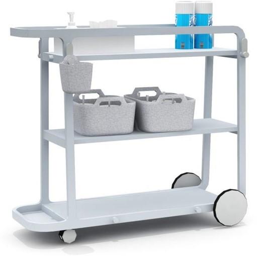 Mobile Sanitizing Flex Cart Station